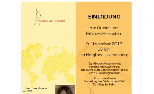 Ausstellung ,,Pillars of Freedom''