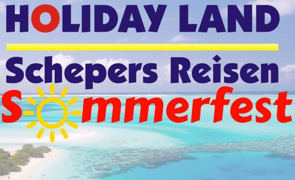 Sommerfest im Holiday Land Schepers Reisen