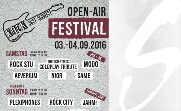 Rock am Raum presents ... Open-Air-Festival 2016